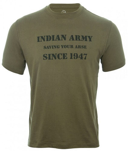 Indian Army T-Shirt Design