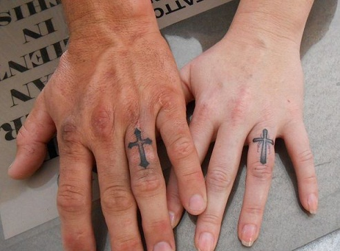 b66f67f3fafb2 9 Wedding Ring Tattoos Ideas And Designs For Male And Female