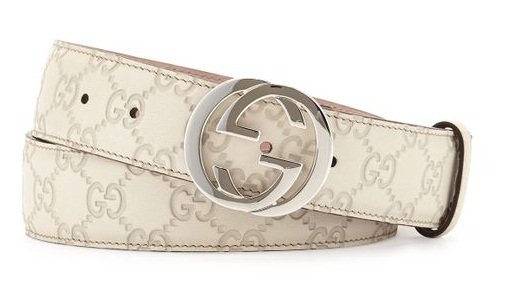Interlocking Belt in White