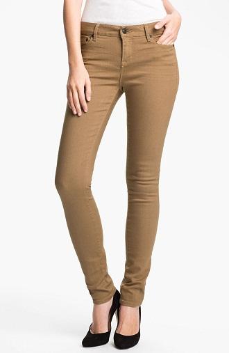 Khaki Colored Jeans