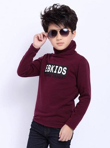 Kids Polo Neck T-Shirt