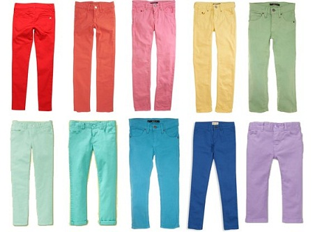 Kids Colored Jeans
