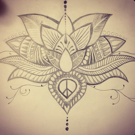 Lotus Spiritual Tattoo