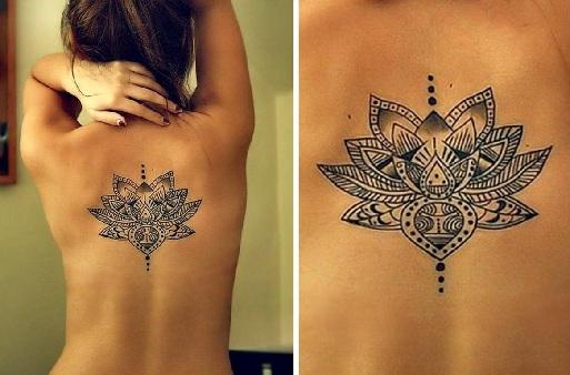 Lotus Tibetan Tattoo