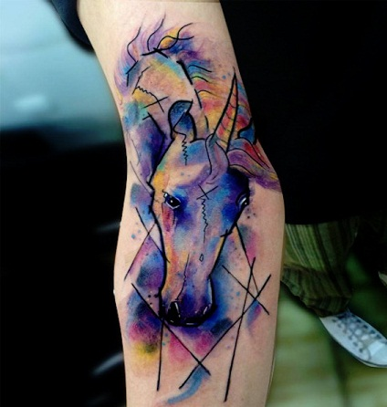 Marvellous Unicorn Tattoo Designs