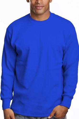 Men's Blue Convincing T-Shirts