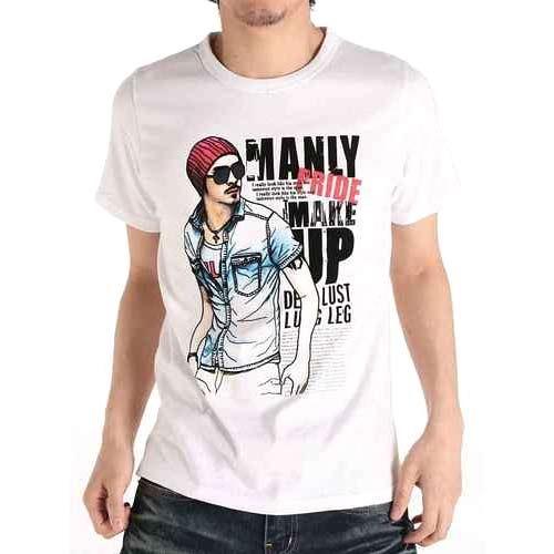 Men's Printed Short T-Shirt