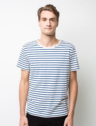 Men's Striped Short Sleeve T-Shirt