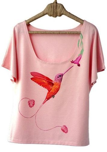 Mesmerising Pink T-Shirts for Women