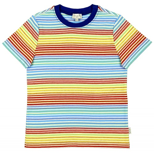 Multi Colour Stripes Baby T-Shirts
