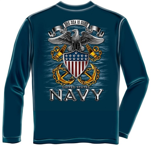 Navy Inspired T-Shirt