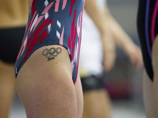 Olympic Games Symbols Tattoo
