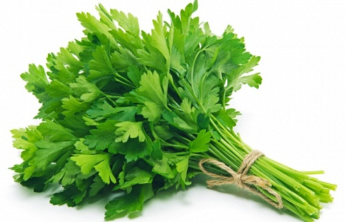 Parsley Remedy of Heat Boils on Face