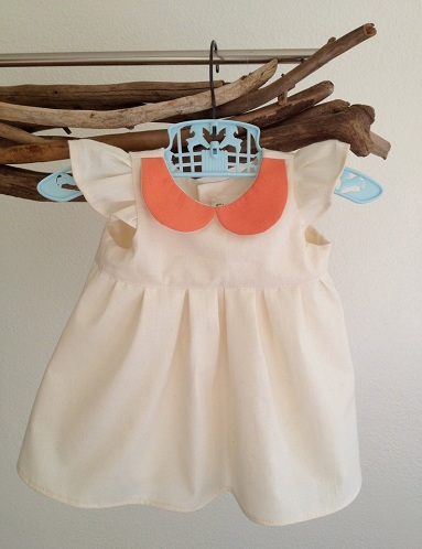Peter Pan Collar Baby T-Shirts