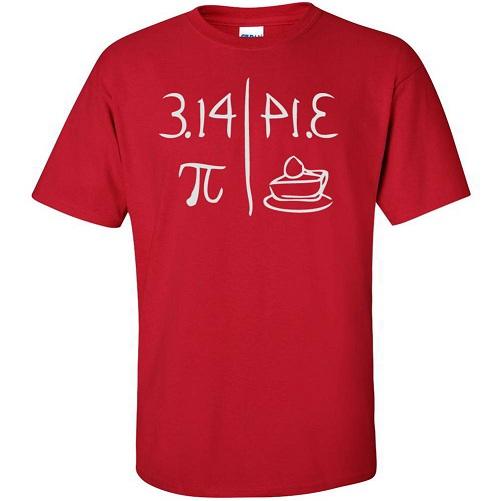 Pie Maths Geek T-Shirts