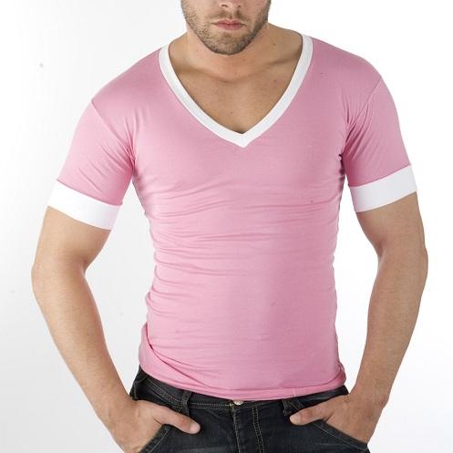 Pink Astonishing Men's T-Shirt