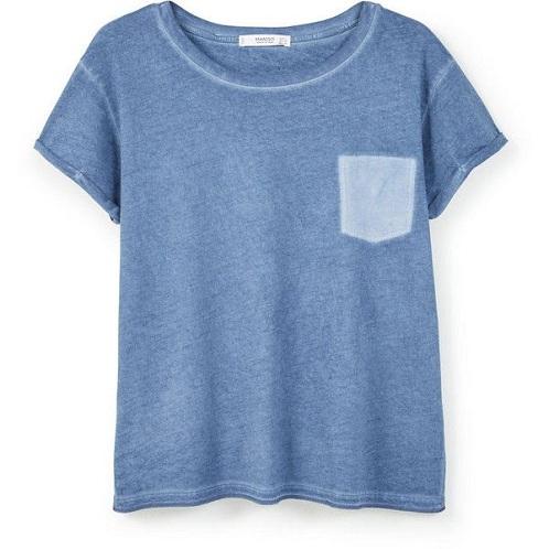 Plain Pocket Half Sleeve T-Shirt