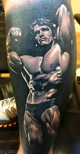 Portrait Sports Tattoo