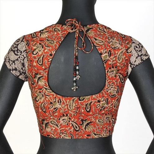 45 Fabulous Blouse Designs For Different Sarees Of India