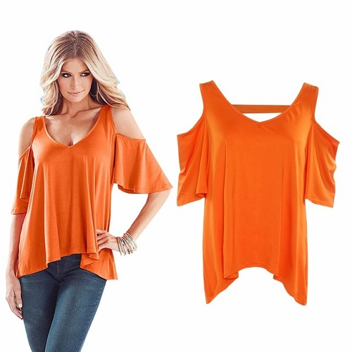 Sensational Orange T-Shirt for Girls