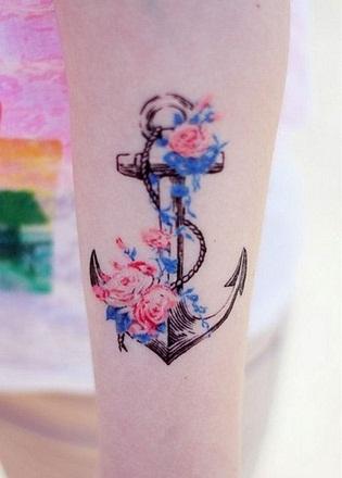 Sensational Watercolour Tattoo Design
