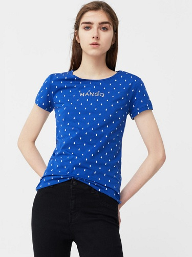 Simple Blue Stunning T-Shirts