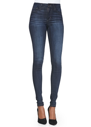 Simple Blue High Rise Jeans