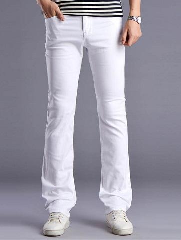 Skinny Flare Jeans for Men