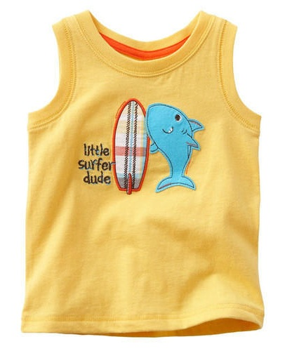 Sleeveless Kids T-Shirt