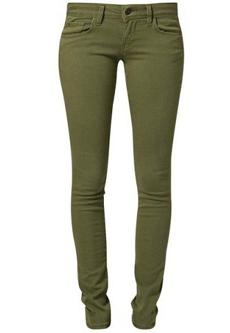 Slim fit Green Jeans