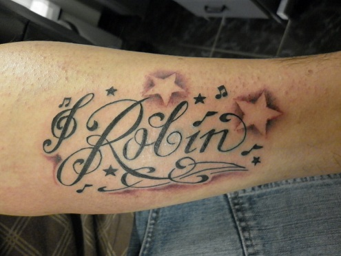 Star Name Tattoo