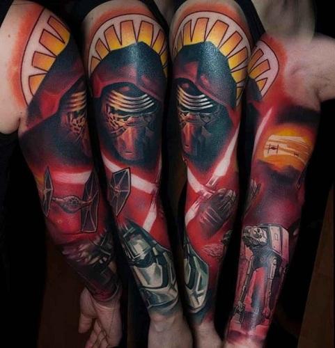 Star Wars Tattoo Sleeve