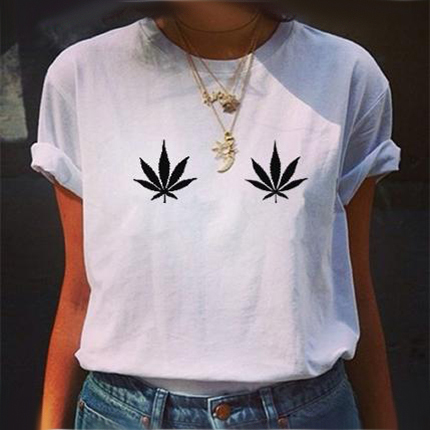 Staggering White T-Shirt for Females