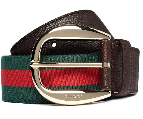 Strip Belt From Gucci