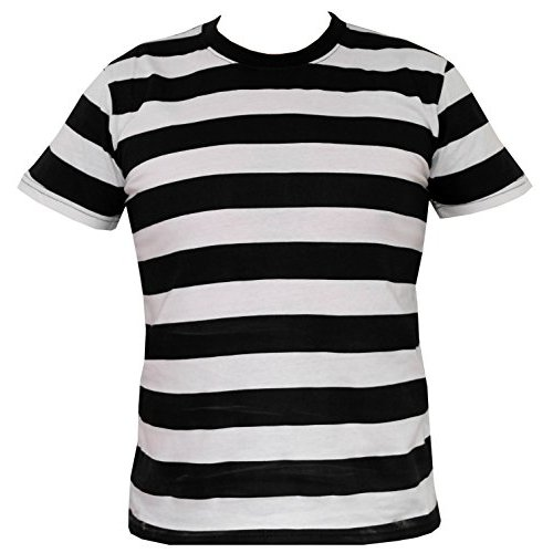 Stripped College T Shirts