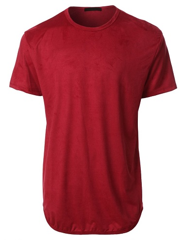 Suede Men's T Shirts
