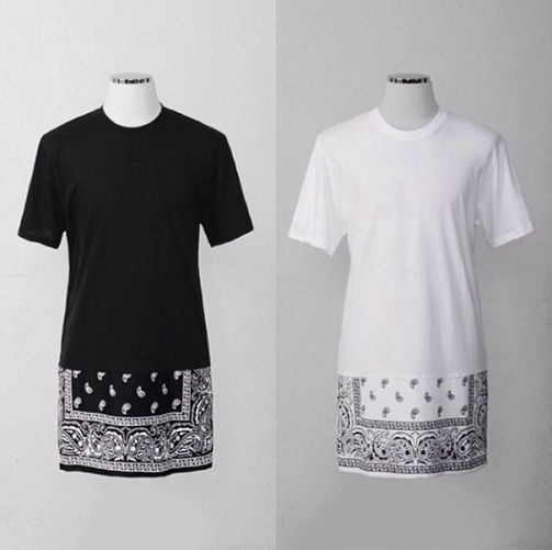 Swag Bandana Style Long T Shirt