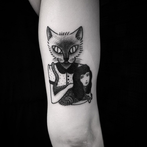Tattoos for Women in Surrealism