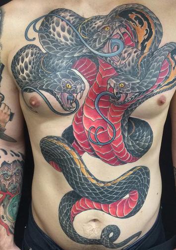 reptil tattoo