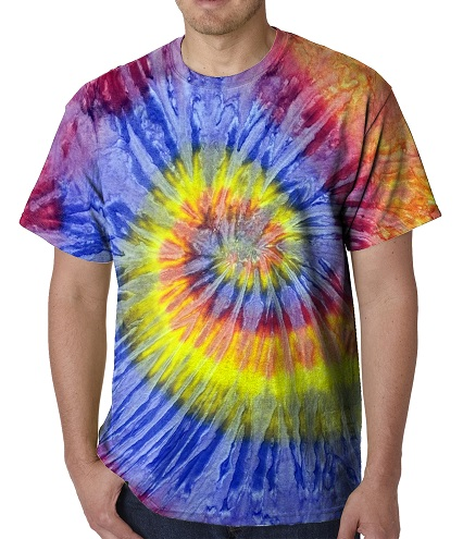 Tie Die Men's T Shirts