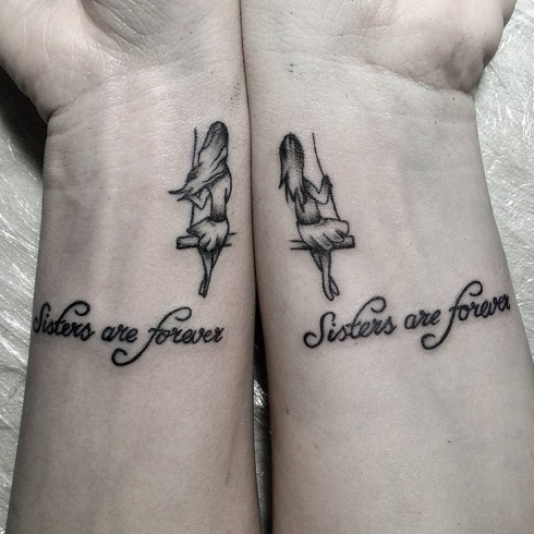 Twin Sibling Tattoos