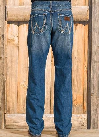 Wrangler Pattern Vintage Jeans