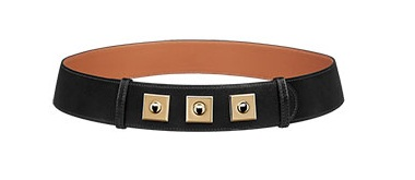 Belt With Gem Front for Women