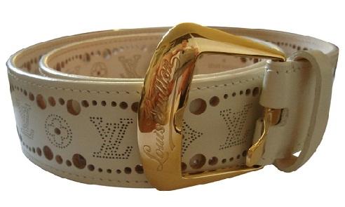 Craved Leather Belt