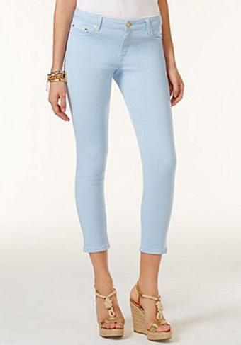 Cropped Pencil Jeans
