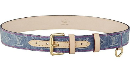 Denim Louis Belt