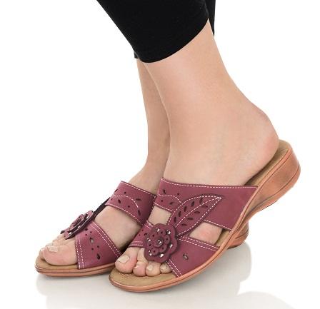 Floral Design Slip-on Sandal for Women