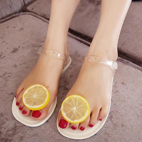 Jelly Sandal in Rubber for Women