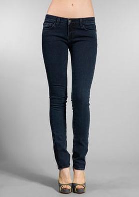 Low Rise Pencil Jeans
