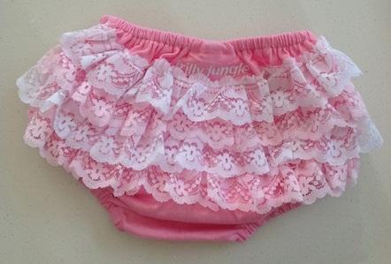 Ruffle Lace Baby Panties